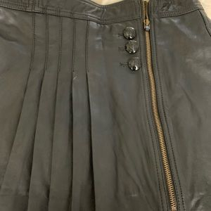 JUICY Couture Lambskin Leather skirt